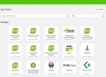 Screenshot App Center UCS 4.2