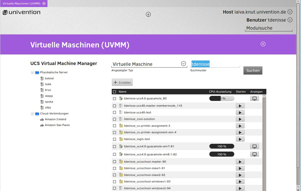 UCS Virtual Machine Manager UVMM
