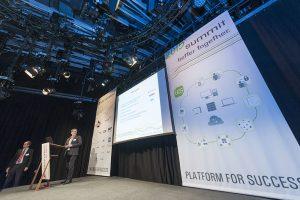 Bernd Strebel at Summit 2015 from Digitec presented UCS Best Practice reports.