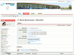 Webweaver Screenshot