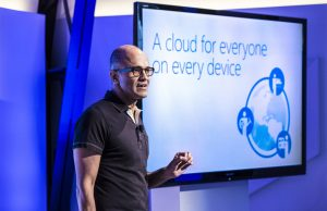 Sataya Nadella CEO Microsoft Cloud Strategy