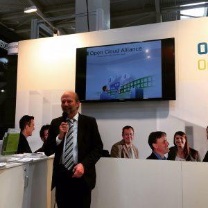 Open Cloud Alliance auf der CeBIT