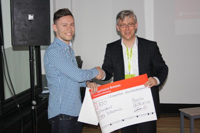 3 platz Absolventenpreis 2015 Sergej Schumilo, Peter Gaten