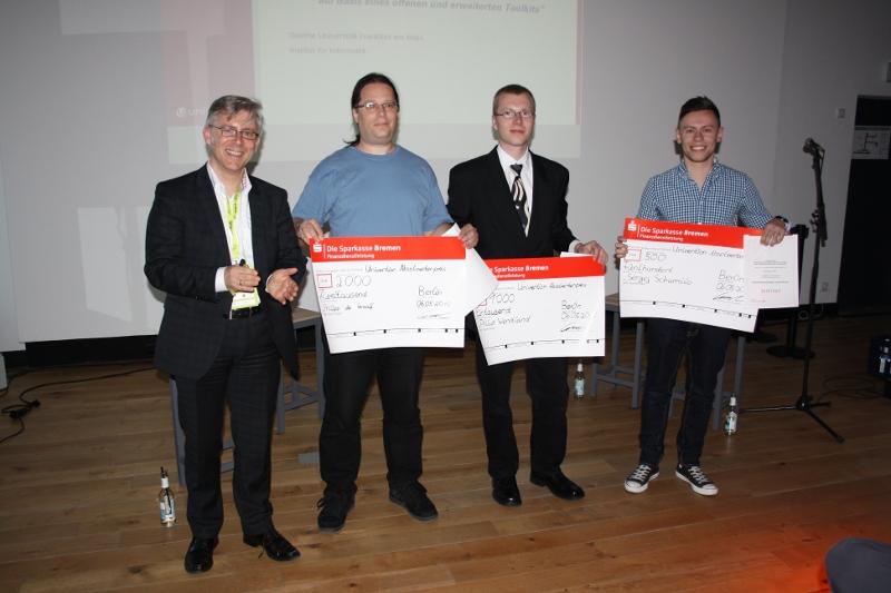 Peter Ganten, Philipp de Graaff, Philip Wendland, Sergej Schumilo