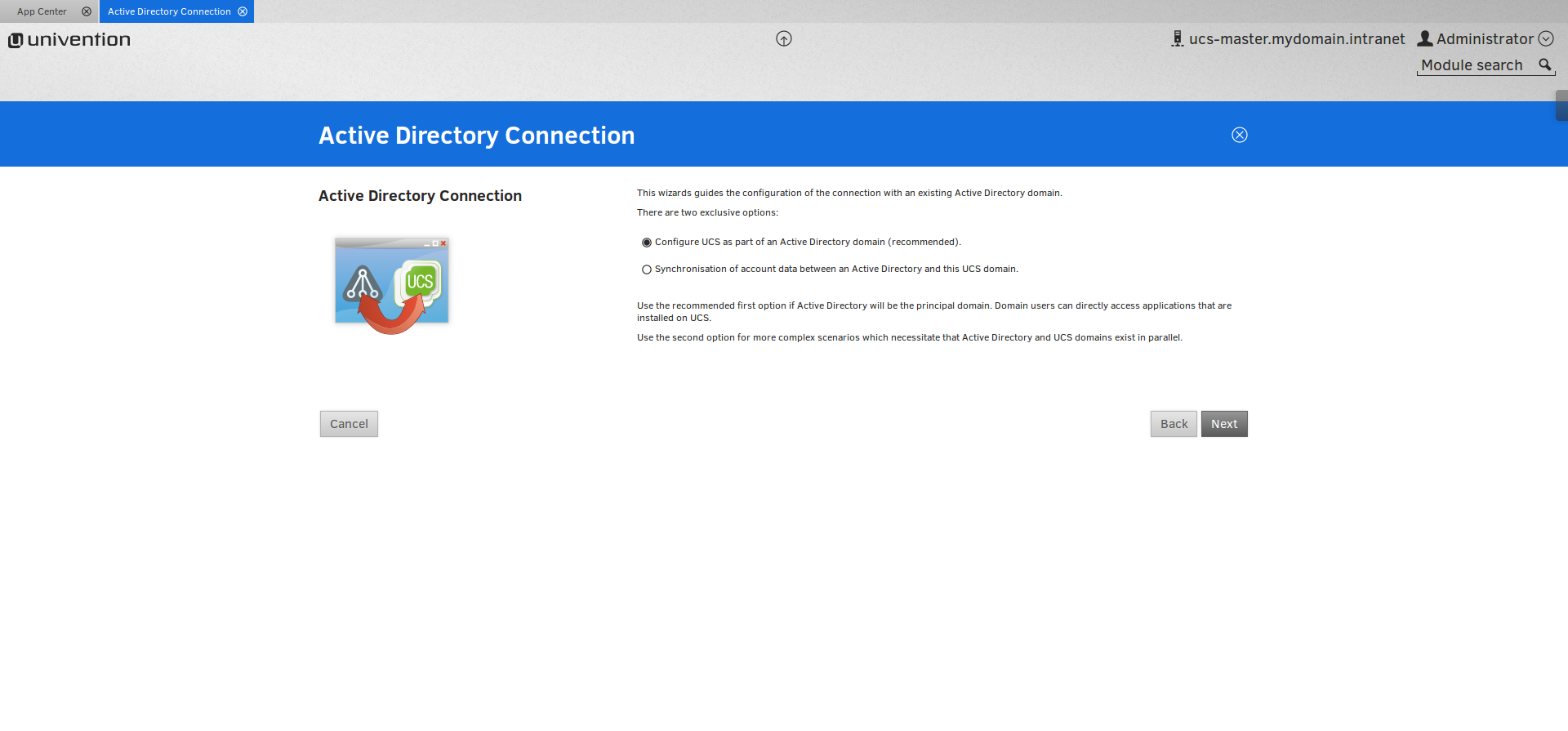 Active Directory Connection