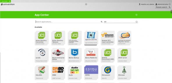 UCS - App Center EN