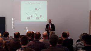 Vortrag Jan Christoph Ebersbach zu UCS@school