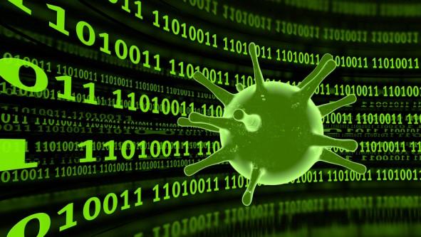 Visualisierung Computer Virus