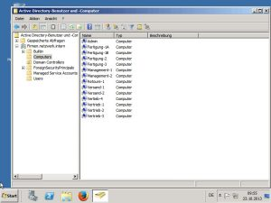 Screenshot of the Active Directory Connection