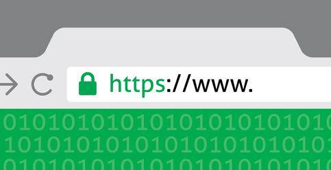 Browser Eingabezeile mit https