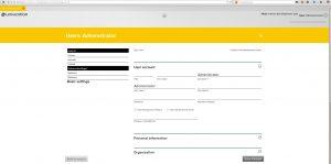 UMC user settings