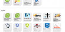 Screenshot App Center UCS