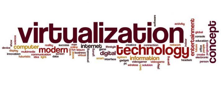 Virtualization Schriftzug