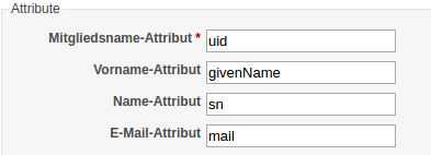 LDAP Attribute