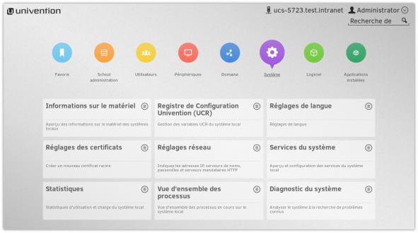 Screenshot UCS französisch