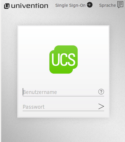 Screenshot Univention Management Console - Single Sign-On