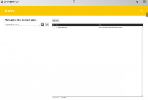 UCS user module