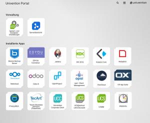 UCS 4.2 Mockup Portal