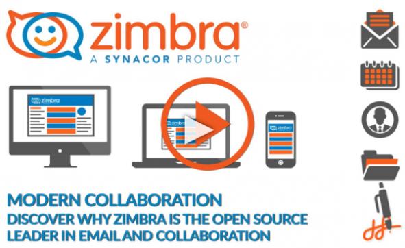 Screenshot Zimbra Einführungsvideo
