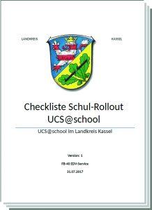 Checkliste für den Schul-Rollout
