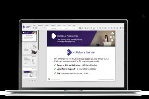 Screenshot Collabora Online Features