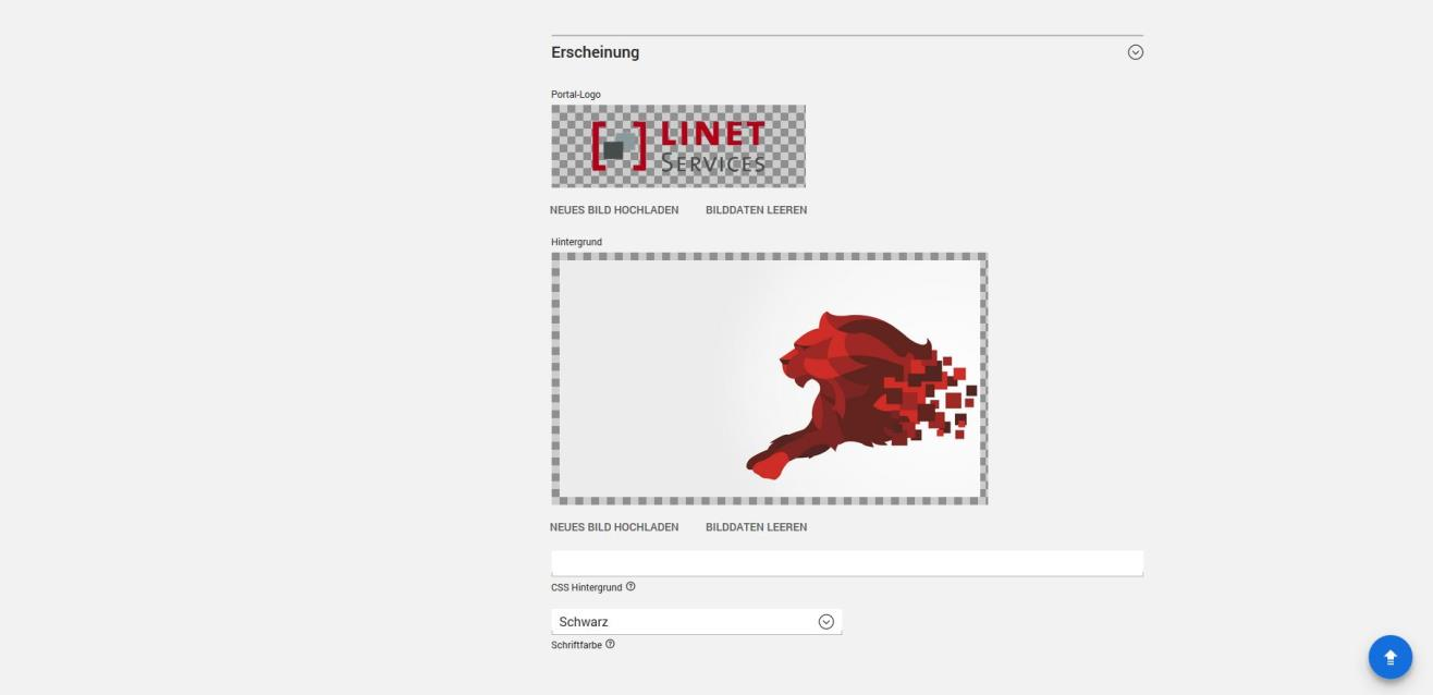 Univention Portal Startseite Und Hintergrund Personalisieren Univention