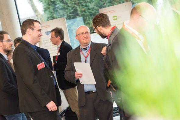 Impression der Partnerstände auf Univention Summit 2018