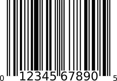 Foto eines Barcodes
