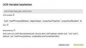 Screenshot Bearbeitung UCR Variable in UCS@school