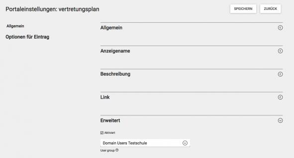 Screenshot WebUntis Portaleinstellungen Vertretungsplan-3