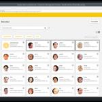 Screenshot im UCS Benutzermenü: Multi-Edit Auswahl