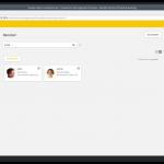 UCS Screenshot Benutzermenü Benutzeransicht
