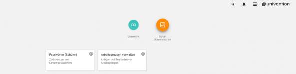 Screenshot Passwörter (Schüler) + Arbeitsgruppen verwalten in UCS@school