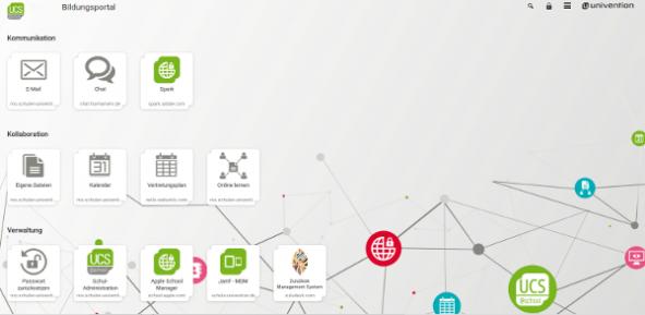 UCS@school Portal