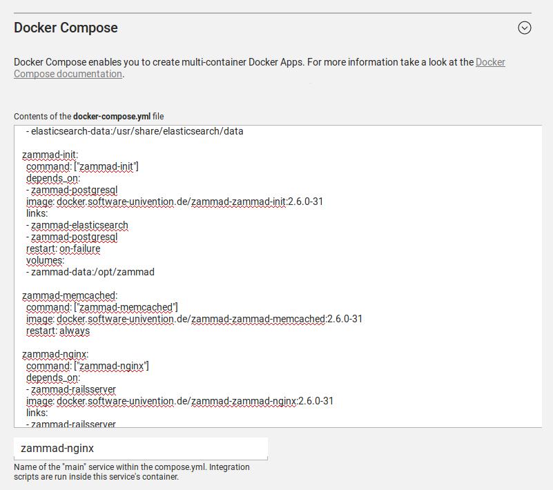 Multi Container Unterstützung Für Docker Apps Für
