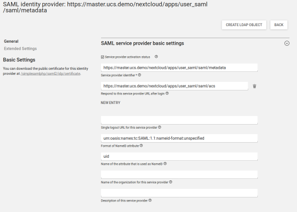 Univention Corporate Server / Blog: How-To: Single Sign-On