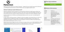 Screenshot UCS 4.4: App Details im App Cente