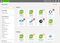 UCS 4.4: App Center App Übersicht