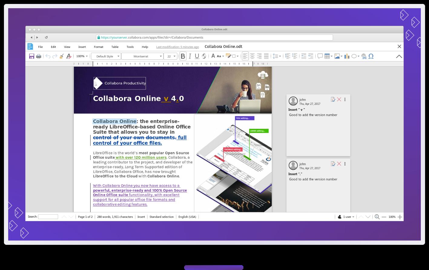 Collabora Online UCS Beispielbild