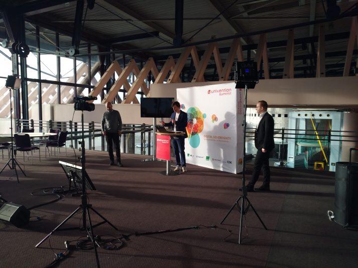 Stage 2 des Univention Summit 2021 im Congress Centrum Bremen