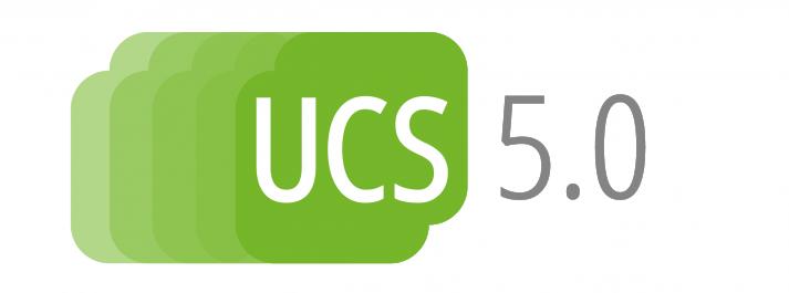 UCS 5.0 Logo zum aktuellen Release