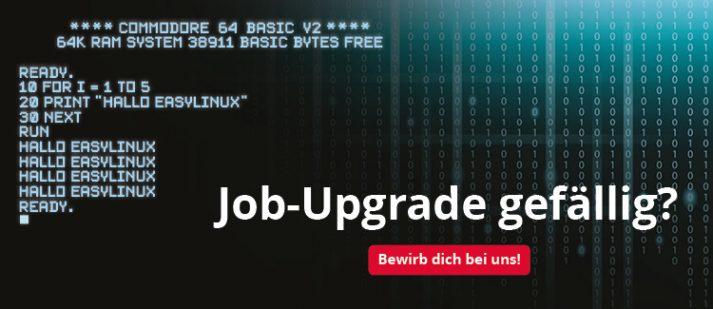 Job Upgrade gefällig: Recruiting Banner für unsere Stellenanzeigen