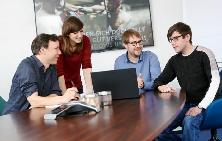 Teammeeting Univention: Werde Teil des Teams