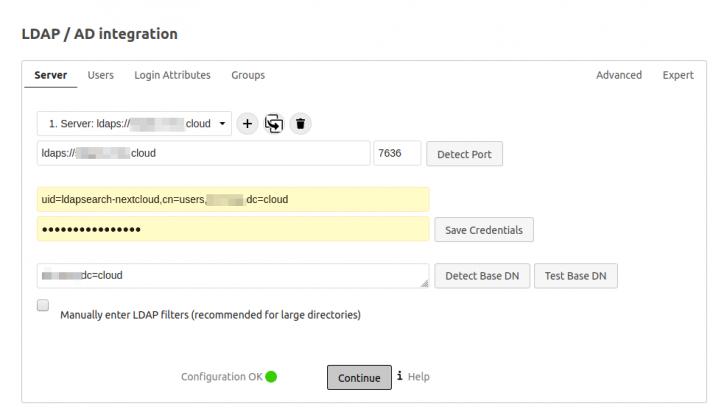 LDAP/AD Integration